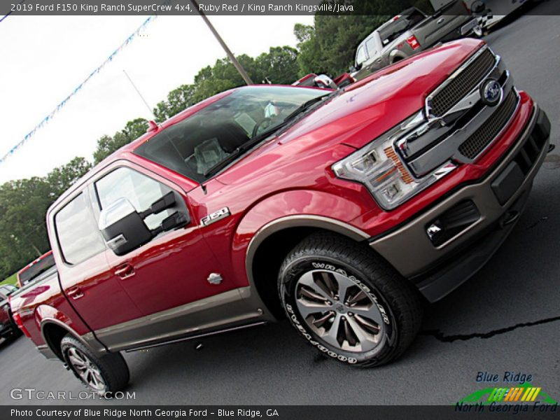 Ruby Red / King Ranch Kingsville/Java 2019 Ford F150 King Ranch SuperCrew 4x4