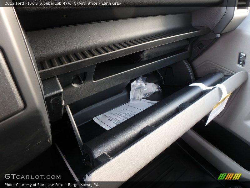 Oxford White / Earth Gray 2019 Ford F150 STX SuperCab 4x4