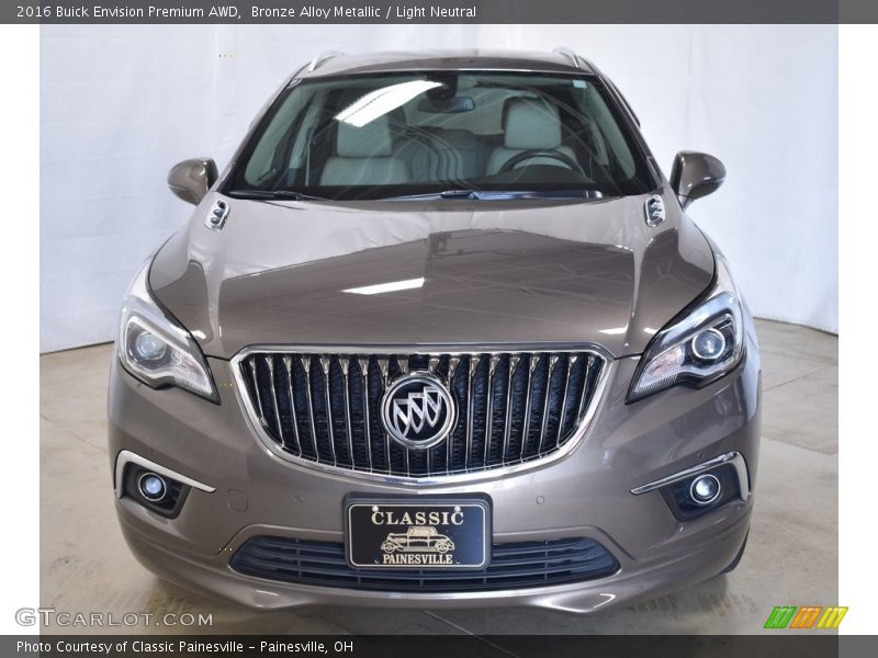 Bronze Alloy Metallic / Light Neutral 2016 Buick Envision Premium AWD
