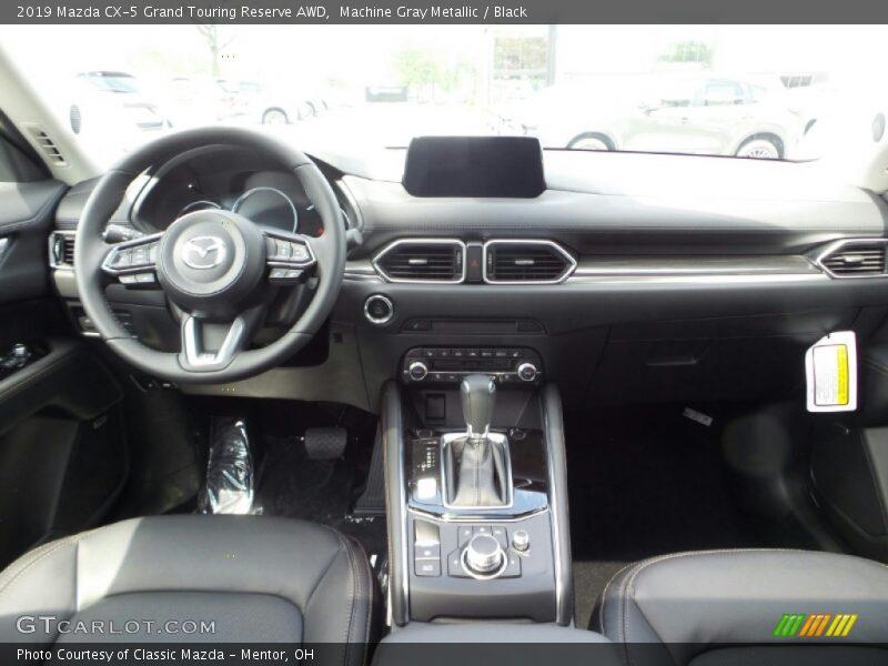 Machine Gray Metallic / Black 2019 Mazda CX-5 Grand Touring Reserve AWD