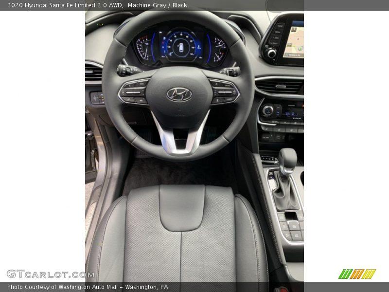 2020 Santa Fe Limited 2.0 AWD Steering Wheel