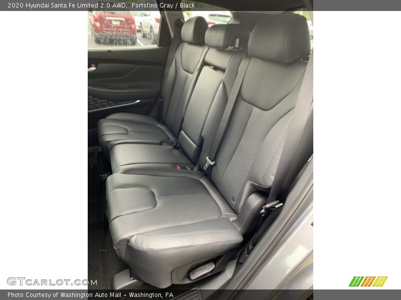 Rear Seat of 2020 Santa Fe Limited 2.0 AWD