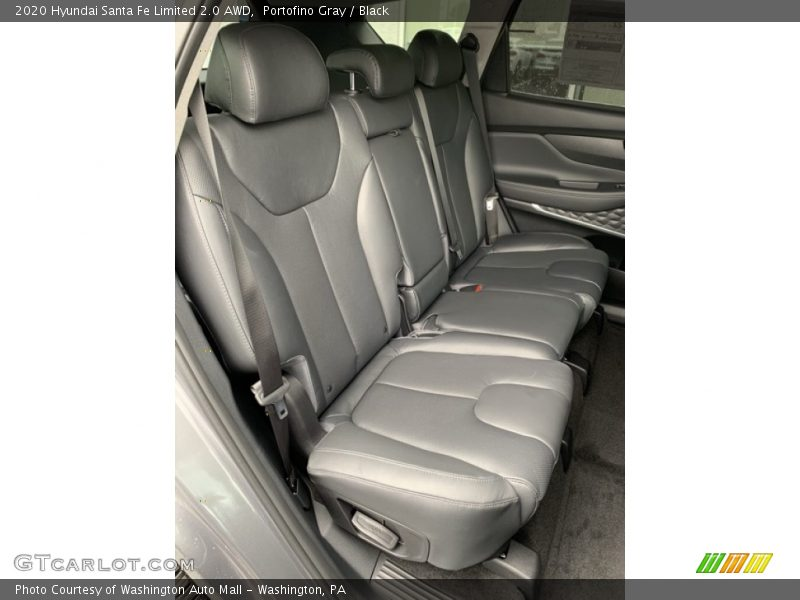 Rear Seat of 2020 Santa Fe Limited 2.0 AWD