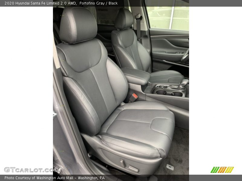 Front Seat of 2020 Santa Fe Limited 2.0 AWD