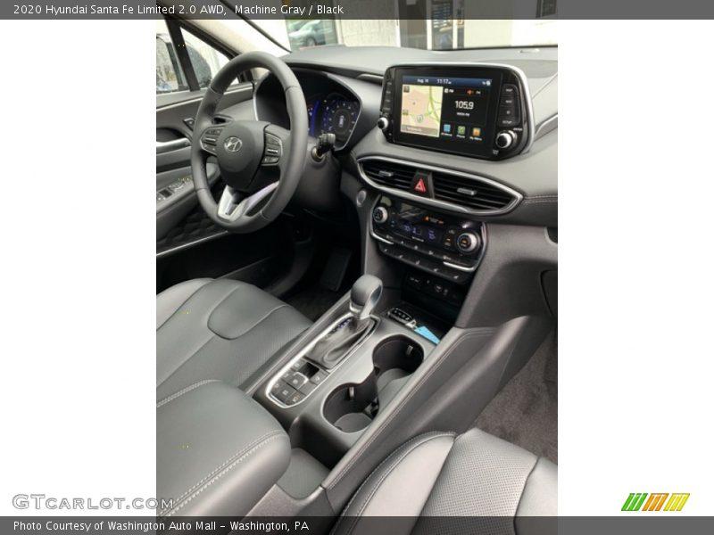Dashboard of 2020 Santa Fe Limited 2.0 AWD
