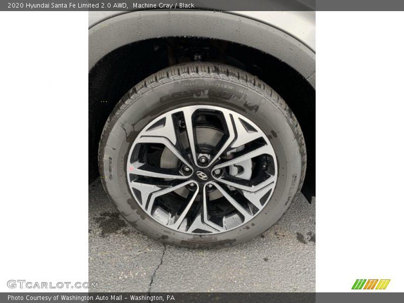 2020 Santa Fe Limited 2.0 AWD Wheel
