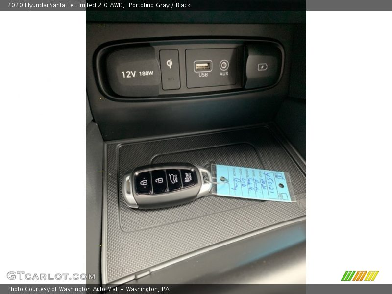 Keys of 2020 Santa Fe Limited 2.0 AWD
