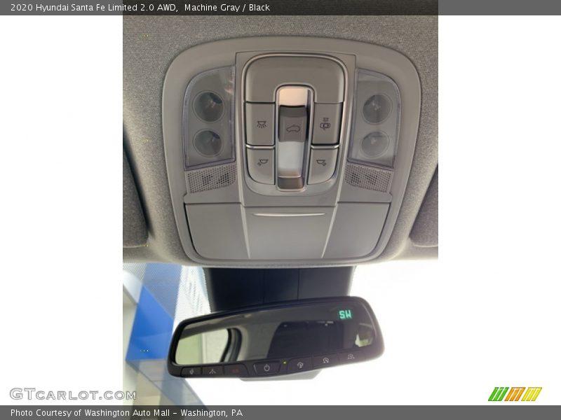 Controls of 2020 Santa Fe Limited 2.0 AWD