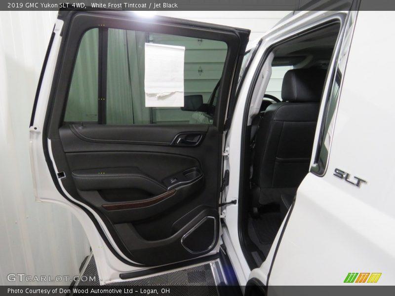 White Frost Tintcoat / Jet Black 2019 GMC Yukon SLT 4WD