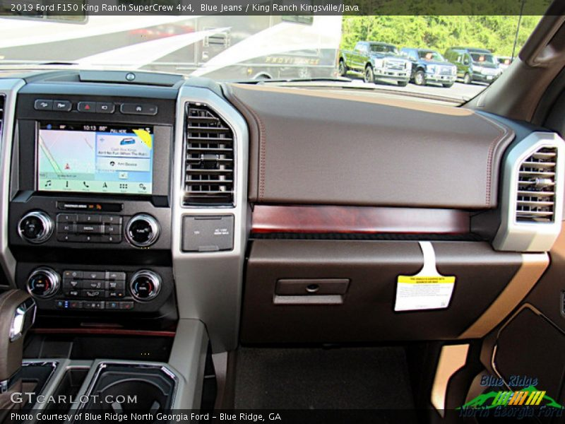 Blue Jeans / King Ranch Kingsville/Java 2019 Ford F150 King Ranch SuperCrew 4x4