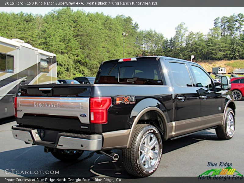 Agate Black / King Ranch Kingsville/Java 2019 Ford F150 King Ranch SuperCrew 4x4