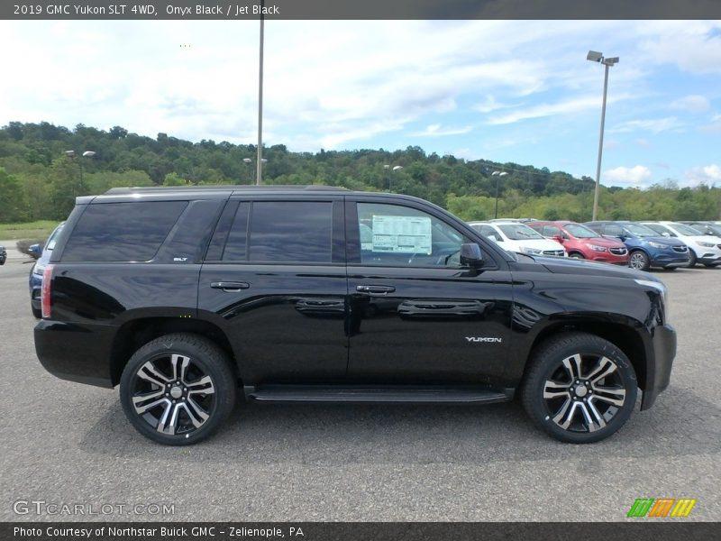 2019 Yukon SLT 4WD Onyx Black