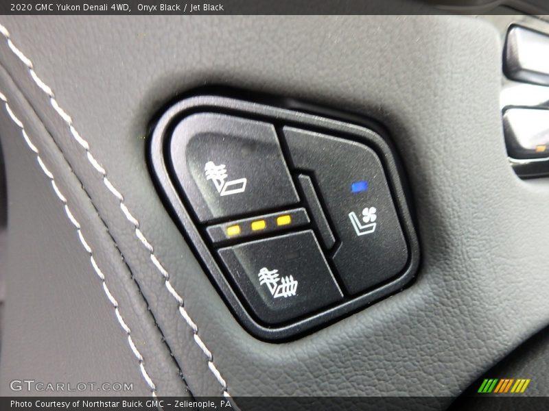 Onyx Black / Jet Black 2020 GMC Yukon Denali 4WD