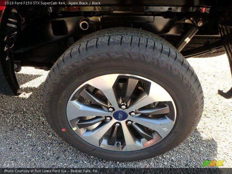 Agate Black / Black 2019 Ford F150 STX SuperCab 4x4