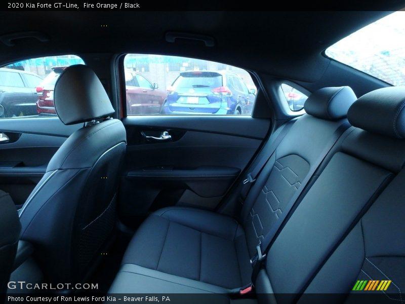 Rear Seat of 2020 Forte GT-Line