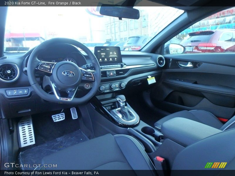 Front Seat of 2020 Forte GT-Line