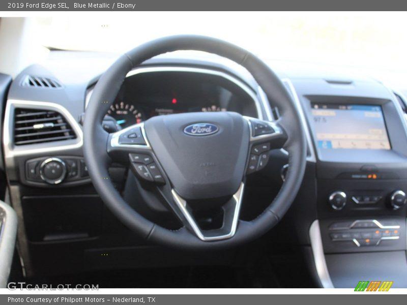 2019 Edge SEL Steering Wheel