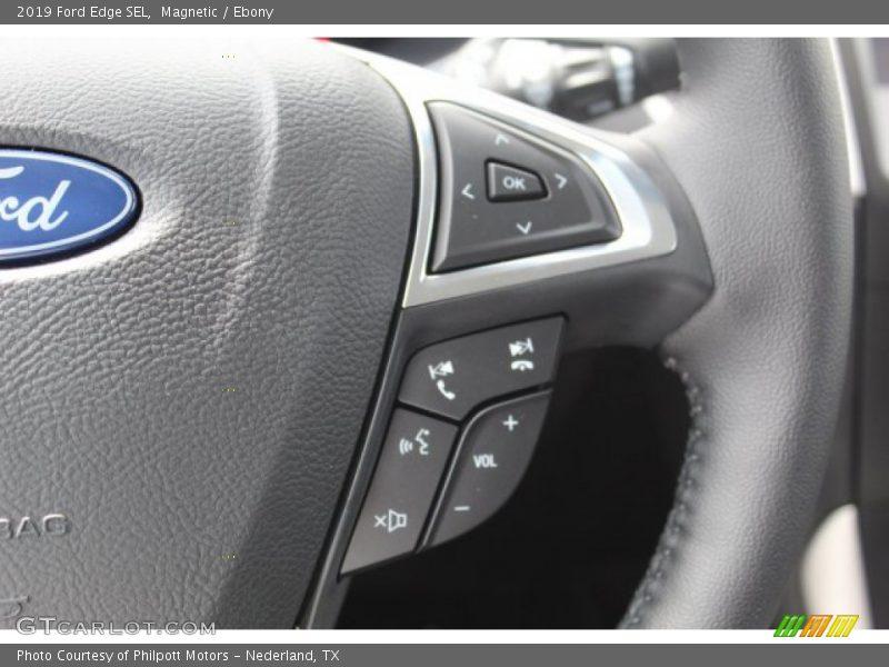 Magnetic / Ebony 2019 Ford Edge SEL