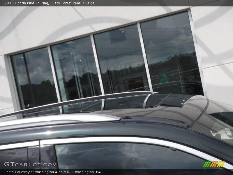 Black Forest Pearl / Beige 2016 Honda Pilot Touring