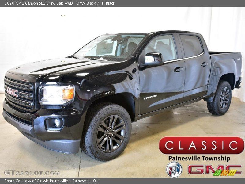 Onyx Black / Jet Black 2020 GMC Canyon SLE Crew Cab 4WD