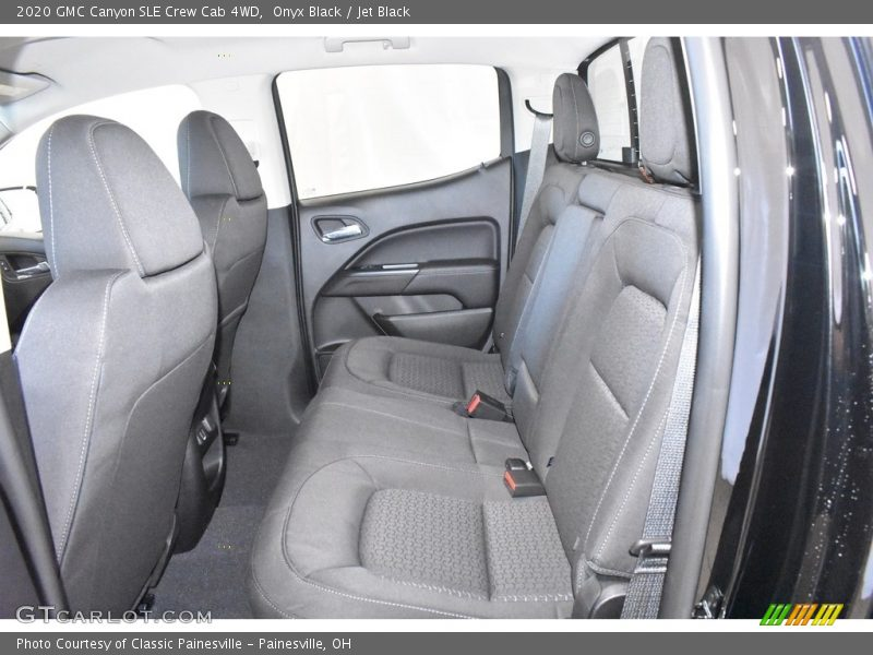 Rear Seat of 2020 Canyon SLE Crew Cab 4WD