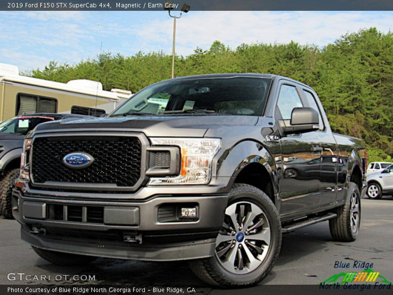 Magnetic / Earth Gray 2019 Ford F150 STX SuperCab 4x4