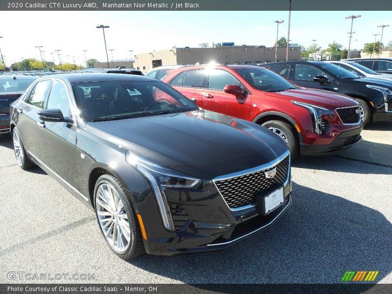Manhattan Noir Metallic / Jet Black 2020 Cadillac CT6 Luxury AWD