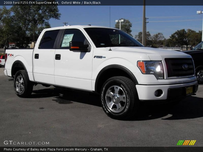 2009 ford f150 fx4 supercrew 4x4 in oxford white photo no. Black Bedroom Furniture Sets. Home Design Ideas