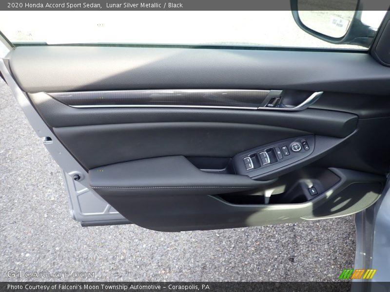 Lunar Silver Metallic / Black 2020 Honda Accord Sport Sedan