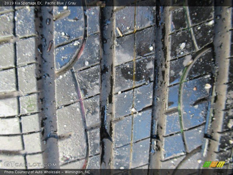 Pacific Blue / Gray 2019 Kia Sportage EX