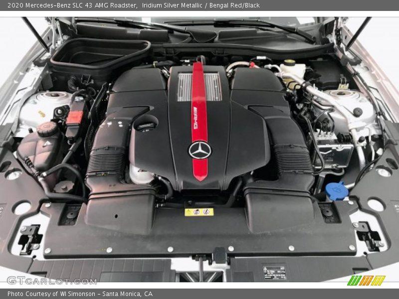 2020 SLC 43 AMG Roadster Engine - 3.0 Liter biturbo DOHC 24-Valve VVT V6