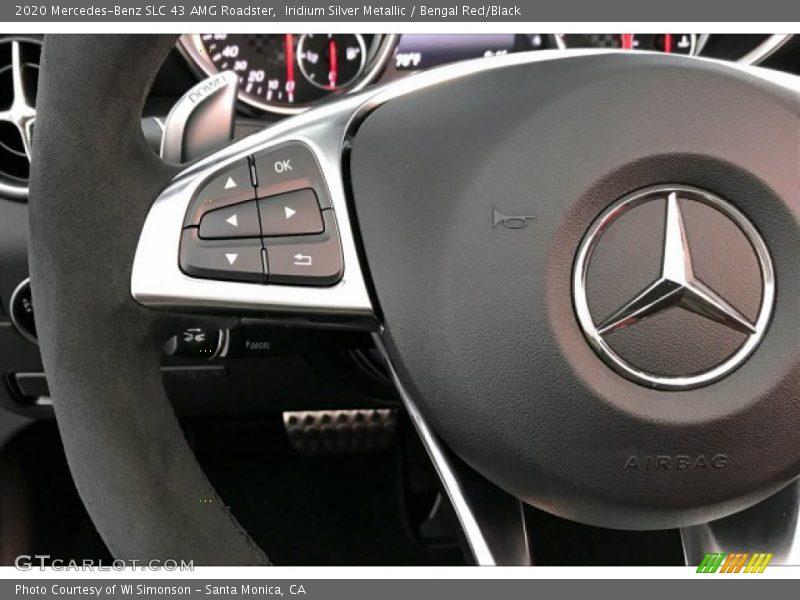 2020 SLC 43 AMG Roadster Steering Wheel