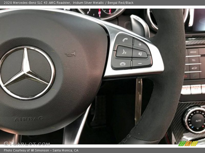 2020 SLC 43 AMG Roadster Steering Wheel