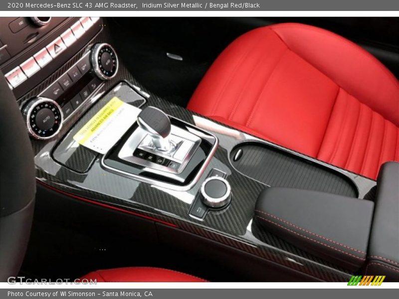 Controls of 2020 SLC 43 AMG Roadster