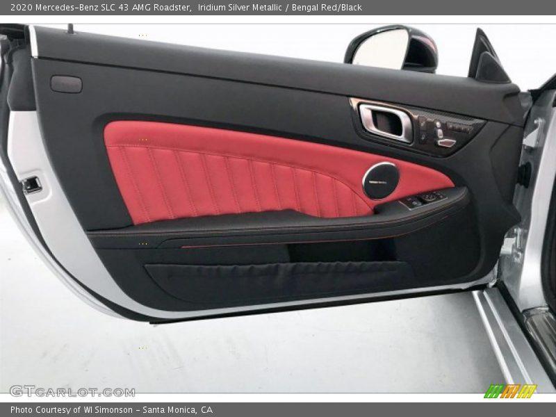 Door Panel of 2020 SLC 43 AMG Roadster