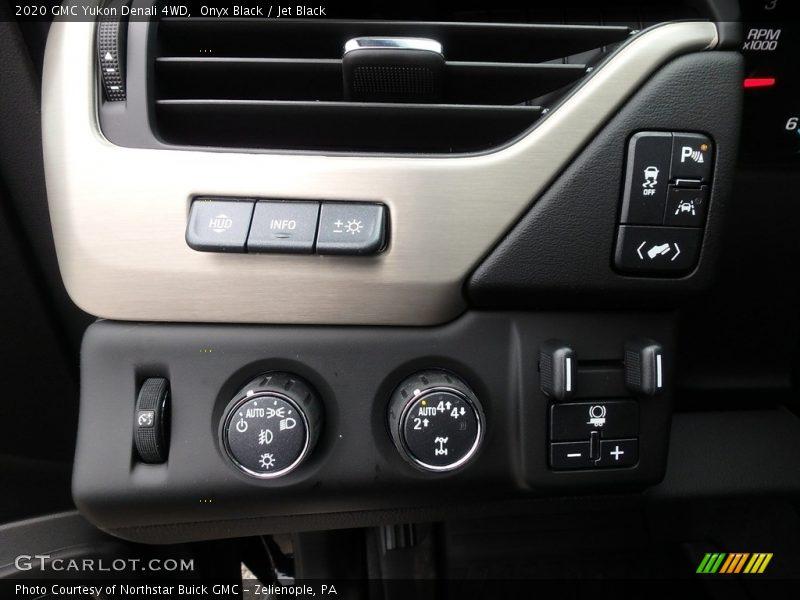 Controls of 2020 Yukon Denali 4WD