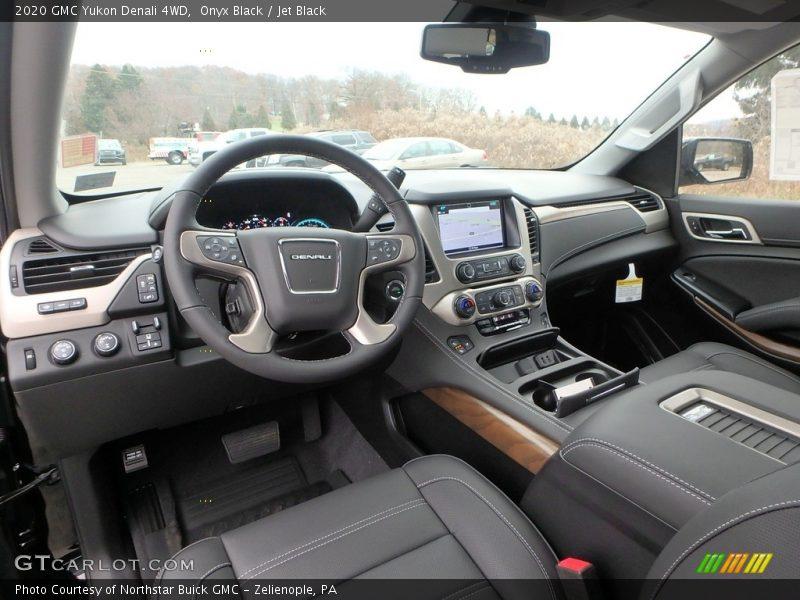 2020 Yukon Denali 4WD Jet Black Interior