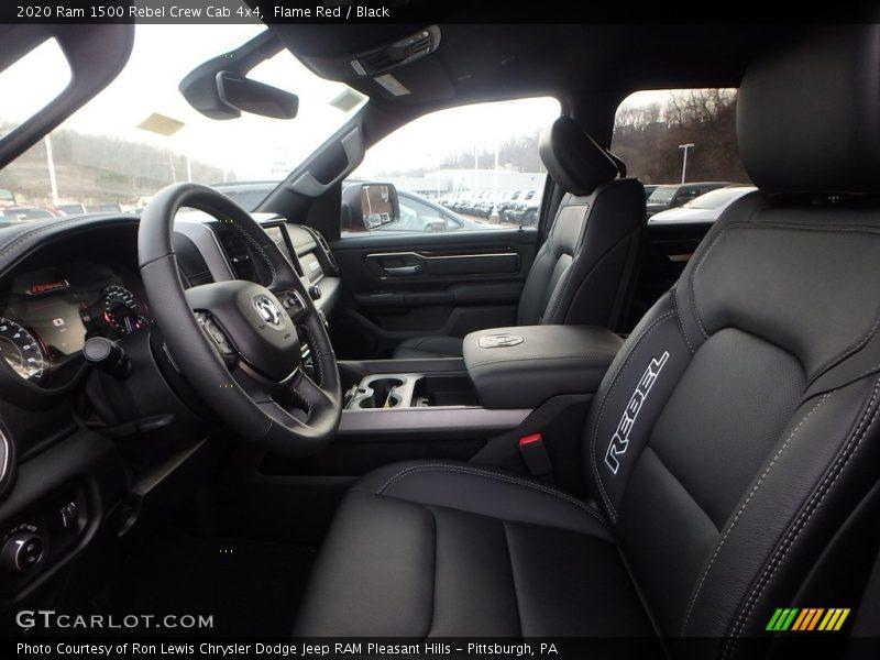 Front Seat of 2020 1500 Rebel Crew Cab 4x4