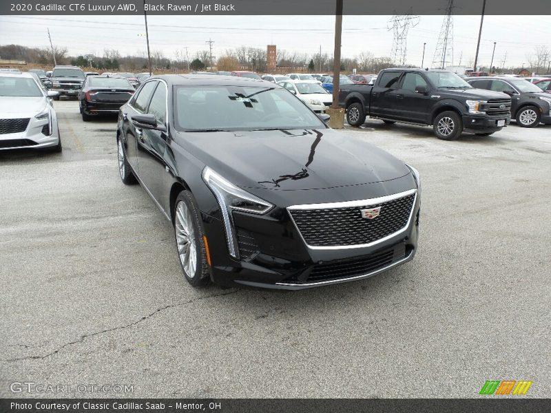 Black Raven / Jet Black 2020 Cadillac CT6 Luxury AWD