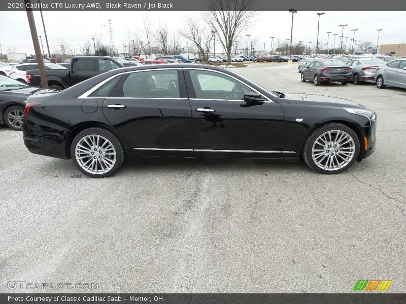Black Raven / Jet Black 2020 Cadillac CT6 Luxury AWD