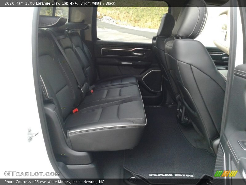 Rear Seat of 2020 1500 Laramie Crew Cab 4x4