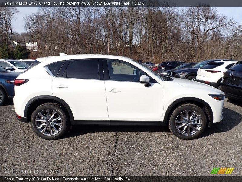 2020 CX-5 Grand Touring Reserve AWD Snowflake White Pearl