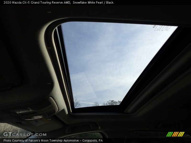 Sunroof of 2020 CX-5 Grand Touring Reserve AWD