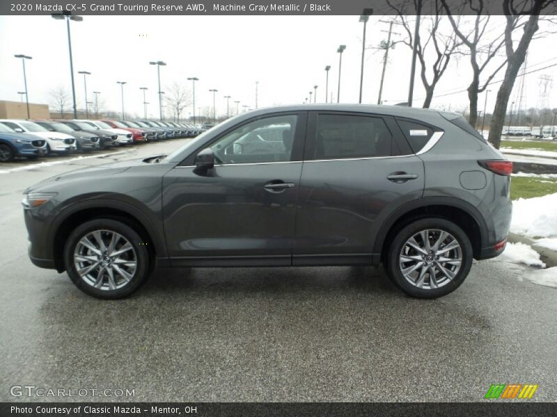 Machine Gray Metallic / Black 2020 Mazda CX-5 Grand Touring Reserve AWD