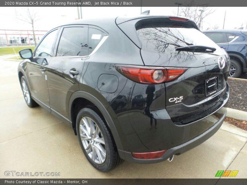 Jet Black Mica / Black 2020 Mazda CX-5 Grand Touring Reserve AWD