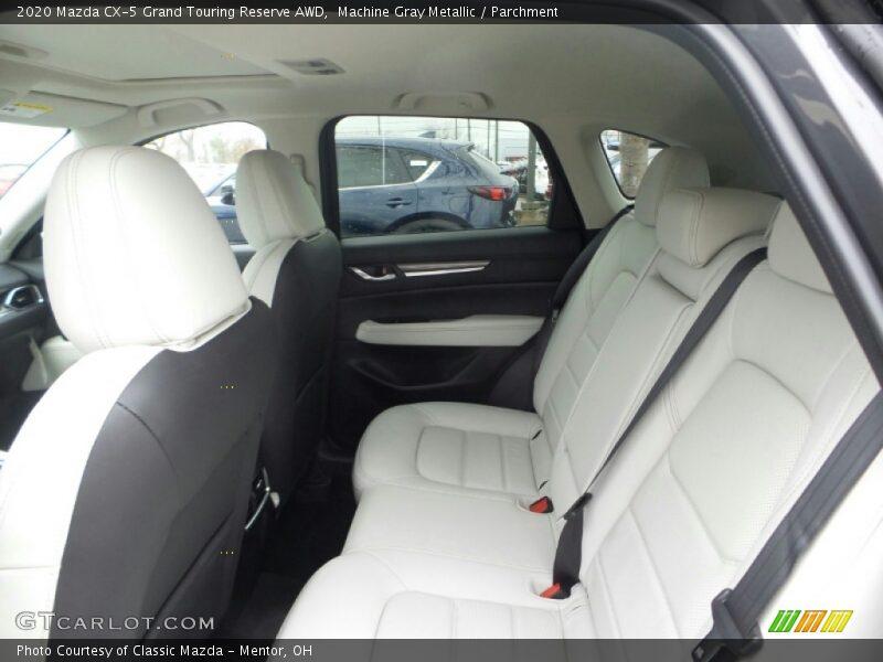 Machine Gray Metallic / Parchment 2020 Mazda CX-5 Grand Touring Reserve AWD
