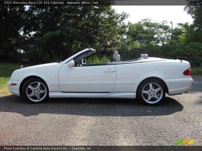 2003 mercedes benz clk 430 cabriolet in alabaster white for Clk 430 mercedes benz