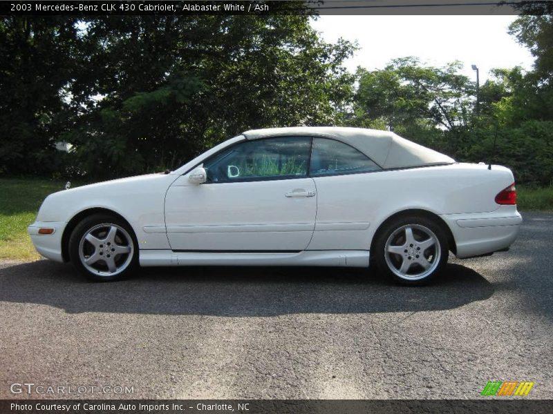 2003 mercedes benz clk 430 cabriolet in alabaster white for 2003 mercedes benz clk430
