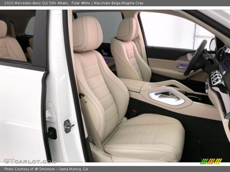 Front Seat of 2020 GLS 580 4Matic