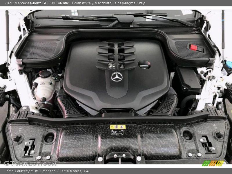2020 GLS 580 4Matic Engine - 4.0 Liter DI biturbo DOHC 32-Valve VVT V8